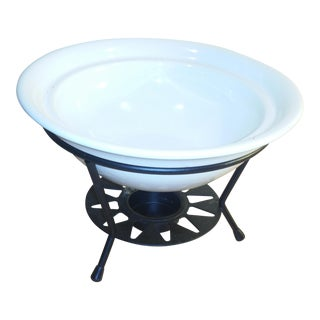 Bowl & Warming Candle Holder