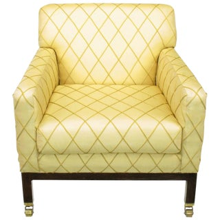 Edward Wormley for Dunbar Rolled Back Club Chair