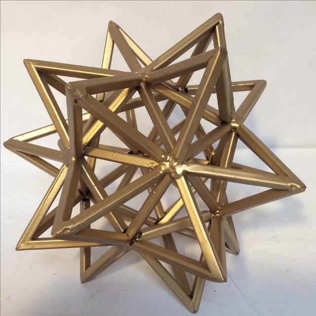 Geometric Gold Star - Image 3 of 7