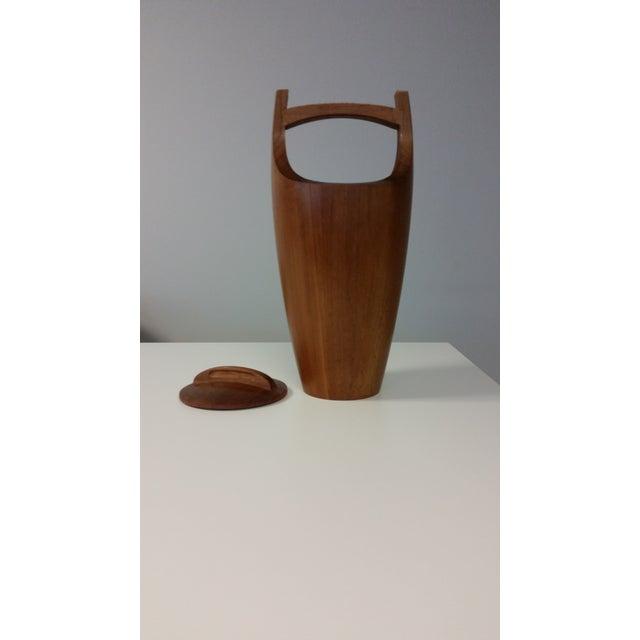 Mid-Century Teak Ice Bucket by Jens Quistgaard - Image 4 of 7