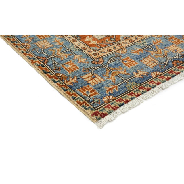 """Image of New Serapi Hand Knotted Runner - 2'9"""" x 9'9"""""""