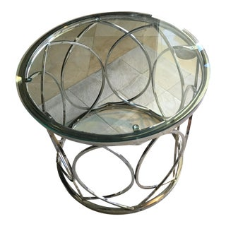 Modern Circular Side Table