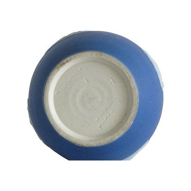Wedgwood English Blue Porcelain Vase - Image 4 of 4