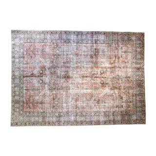 "Vintage Tabriz Carpet - 7'11"" X 11'4"""