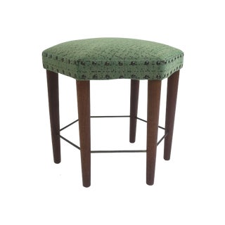 Danish Pentagon Mid-Century Stool