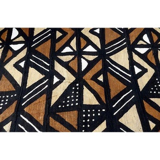 1980's Malian Bogolan Mud Cloth Textile