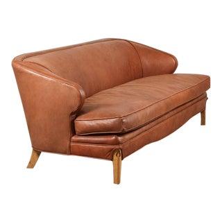 Leather Douglas Sofa by Lawson-Fenning