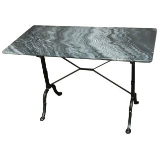 French Marble Bistro Table