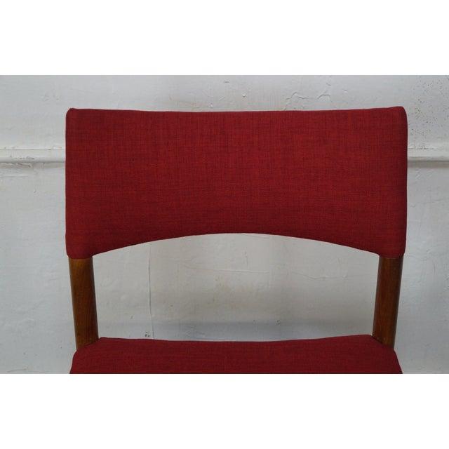 Vintage Danish Modern Teak Dining Chairs - Set of 8 - Image 6 of 11