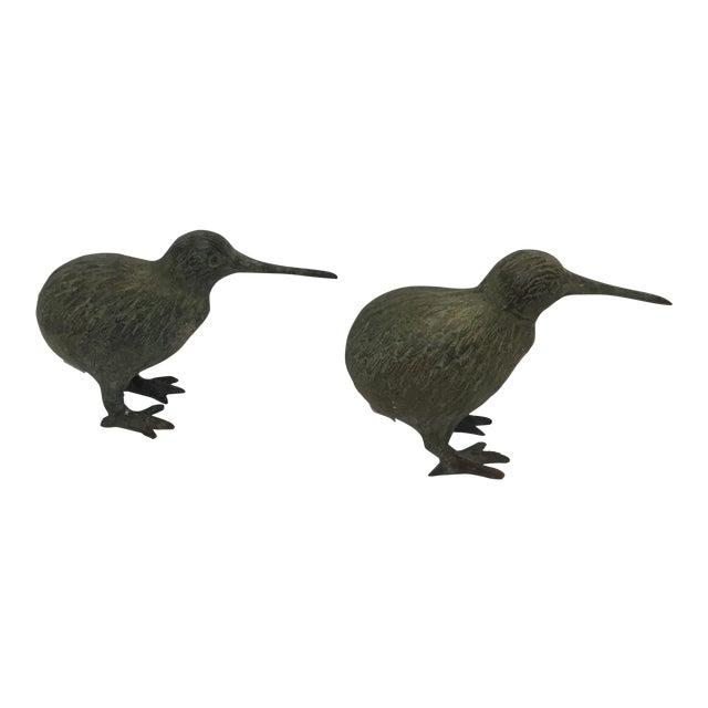 Image of Bronze Birds Models - A Pair