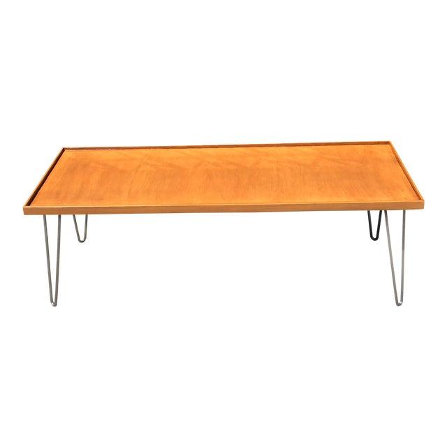 Mid Century Coffee Table On Hairpin Legs Chairish