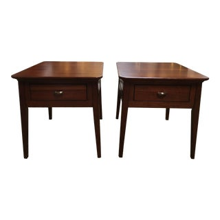 Kincaid Park Cherry End Tables - A Pair