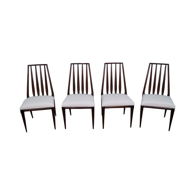 Widdicomb Mid-Century Modern Dining Chairs - 4 - Image 1 of 10