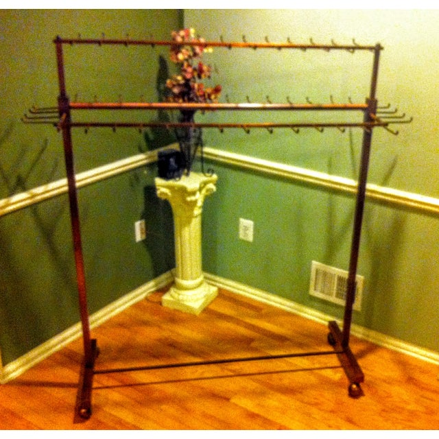 Industrial Two Tier Copper Rack Stand - Image 2 of 10
