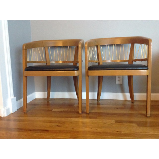 Edward Wormley for Drexel Armchairs - A Pair - Image 3 of 11
