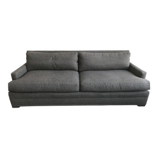 Modern Gray Vanguard Sofa