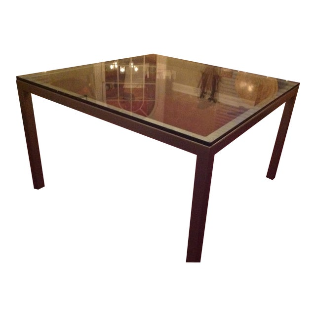 Image of Square Parsons Dining Table