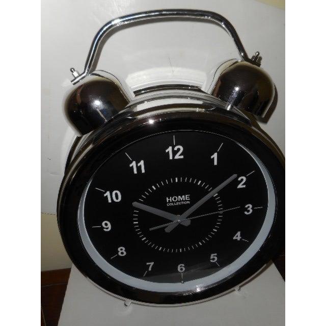 "Mid Century Modern Wall Clock 25"" - Image 4 of 6"