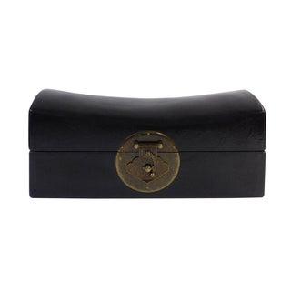 Chinese Black Pillow Box