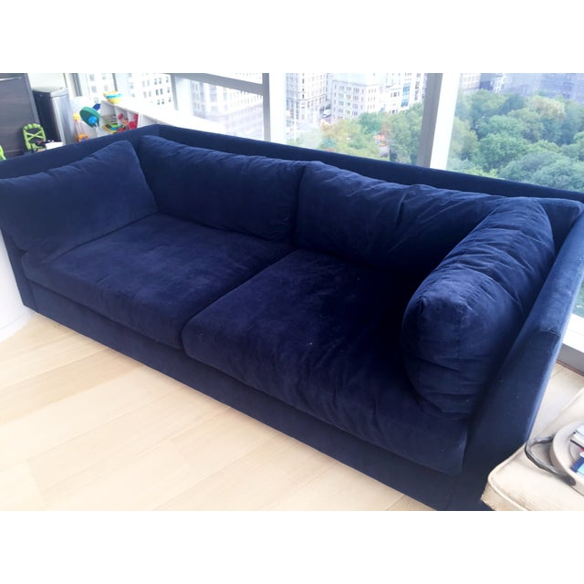 Image of Midnight Navy Franco Couch