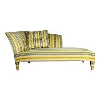 John Hutton for Donghia Spirit Stripe Chaise Lounge