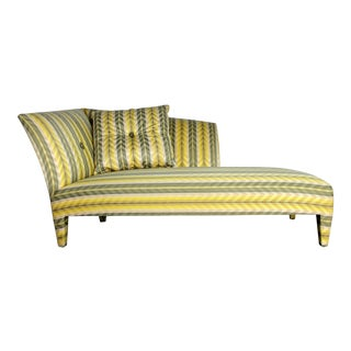 John Hutton for Donghia Spirit Stripe Chaise Lounge