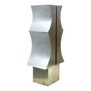 1970s Modernist Aluminum Sculpture by Yutaka Toyota
