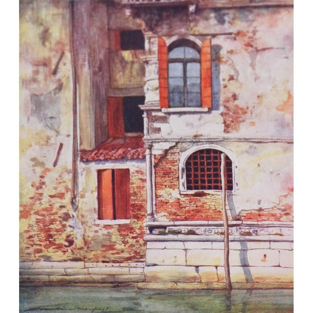 'Windows & Doors of Venice' Lithographs - Set of 4 - Image 6 of 8