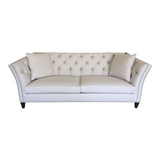 Ethan Allen Tufted Shelton Sofa
