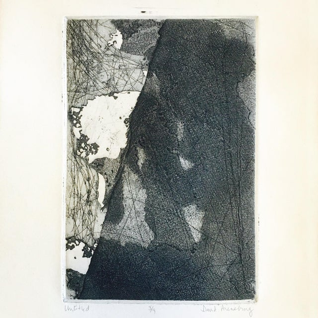 Vintage Original Abstract Lithograph - Image 3 of 7