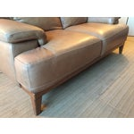 Image of Designer Leather Couch