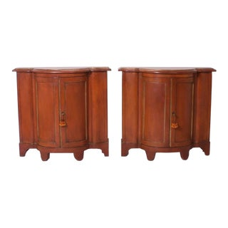 Pair of Early 20th Century Italian Painted Cabinets