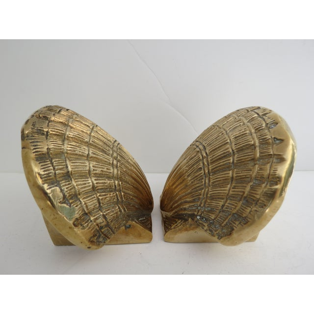 Brass Shell Bookends - Image 6 of 7