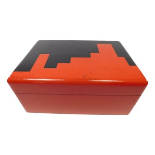 Deco Poker Chips Box Manner of Donald Deskey