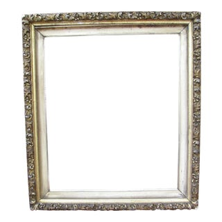 Antique French Baroque Picture Frame