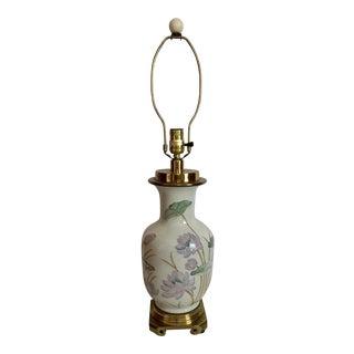 Paul Hanson Water Lily Lamp