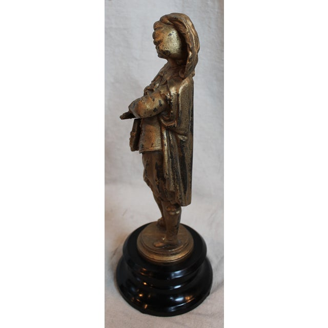 Antique Spelter Figure of a Gentleman - Image 3 of 6