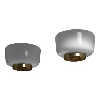 Pair of Lisa Johansson-Pape Ceiling Lamps, Orno, Finland, 1960s