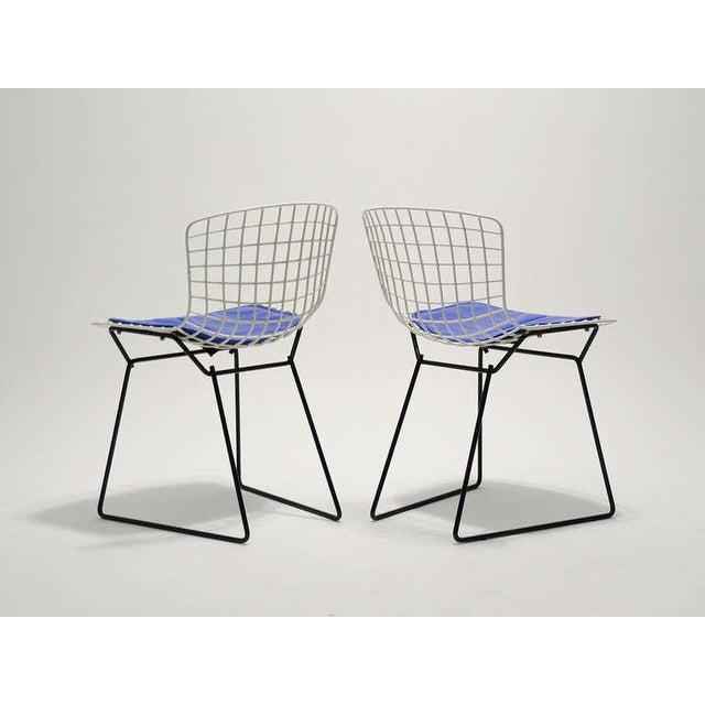 Image of Pair of Bertoia child's chairs by Knoll