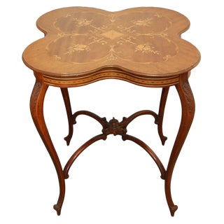 Horner Marquetry Table
