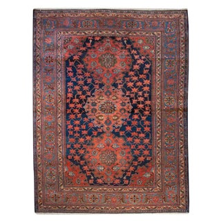 19th Century Nahavand Carpet - 5′ × 6′5″