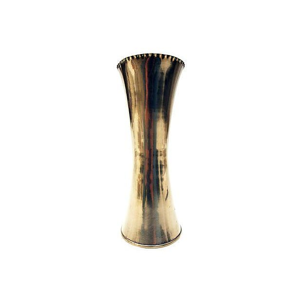 Sculptural Brass Vase - Image 2 of 6