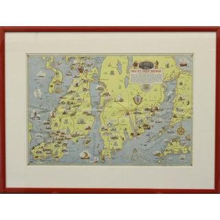 Rhode Island Map, 1933