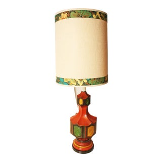 Mid-Century Modern Ceramic Table Lamp