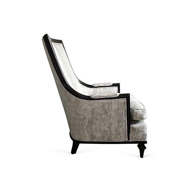 Image of Baker Attri. Vintage 1956 High-Back Club Chair