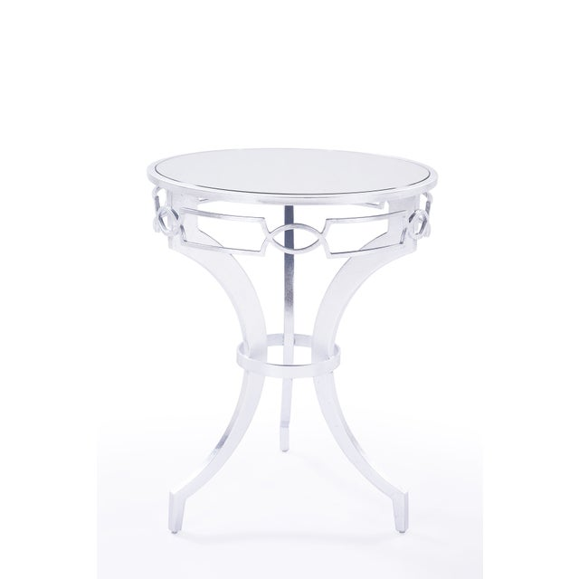 Image of Arianna Side Table in Silver
