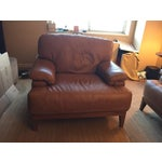 Image of Designer Italian Leather Chair