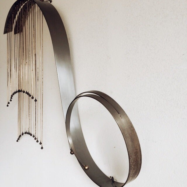 Image of C.Jere Wave Wall Sculpture
