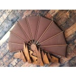 Image of Vintage Wood Wall Abstract Sculpture