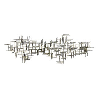 1970s Large Wall Sculpture by Marc Creates